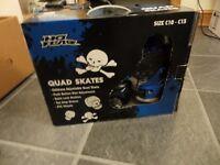 quad skate in blue size C10 - C13