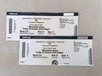 U2 Tickets (pair) - Friday Oct 18, Manchester Arena