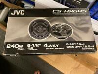 Jvc 240w 4 way speakers 16cm brand new