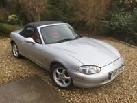 Mazda MX-5S 1.840cc (39000 miles, full MOT, great condition)