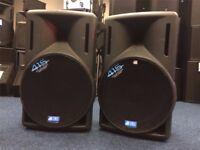 "2 - db Opera 15"" Active Speakers 400w RMS"