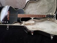 Rare washburn electro acoustic sbf80 black guitar