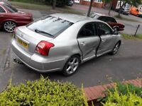 TOYOTA AVENSIS DAMAGED CAT B