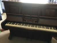 Piano in v good condition for sale.