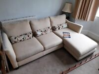 Sofa, L shape, and chair