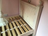 3ft Single Bed - Solid Wood Bedframe with storage drawers