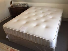 KINGSIZE BED FOR SALE - JOHN LEWIS - NEARLY NEW