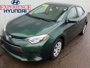 2015 Toyota Corolla LE LOW KMS + FACTORY WARRANTY + GREAT ON FUE