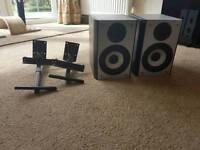 Goodman's 60 watt speakers and brackets