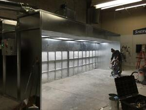 VENTLESS SPRAY BOOTH SPRAYBOOTH WOODWORK/INDUSTRIAL