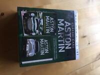 Aston Martin DVD book an book set