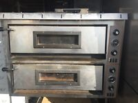 Electric Italian Pizza oven DOUBLE DECK