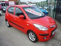 Hyundai I10 comfort,5 door hatchback,full MOT,1 owner from new,2 keys,very clean tidy car,only 20k