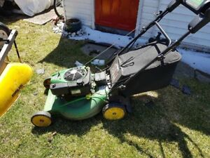 Lots of lawn equipment