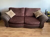 3 seater sofa bed and 2 seater corner couch