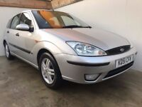 2002 51 FORD FOCUS 1.6 ZETEC AUTOMATIC 2 OWNERS 52K FSH CAMBELT CHANGED LONG MOT RECENT SERVICE