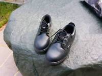 Toesavers 1410 - 11 Dual Density Padded Collar Safety Shoes with S3 Midsole