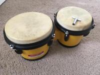 Percussion plus bongos