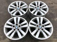 "Set of 4 Used Wheels BMW 6 775 599 3 series e90/e91 8x17"" 5x120 et34"
