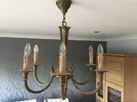 Chandelier with Wall lights