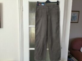 Brand new and tagged M&S cord trousers age14