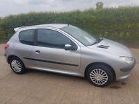 2001 Peugeot 206 1.1 Only 60k Miles, Full MOT, Superb!!