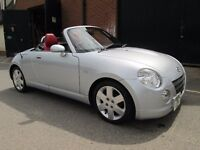 DAIHATSU COPEN CONVERTIBLE 40,000 FULL LEATHER PRISTINE CONDITION Part exchange available /All cards