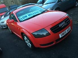 05 AUDI TT 1.8/ LEATHER/ BOSE/FSH