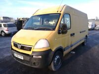 Vauxhall Movano lwb 2008 year spare parts available bumper bonnet wing lights radiator