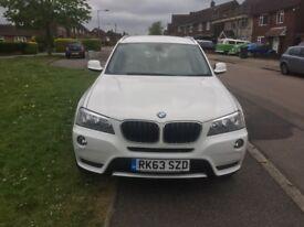 BMW X3 xDrive20d SE 2013/Sat Nav/Rev Cam/Lather Seats/BMW Warranty/12 Month MOT/ AC/Heating seats