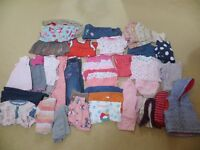 Great condition 9-12 month baby girl clothes bundle - M&S, mamas and papas, Next, Gap, Jasper Conran