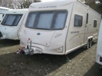 2009 BAILEY SENATOR TOP RANGE. FIXED DOUBLE BED TWIN AXLE MOTOR MOVER 4 BERTH. BATHROOM. FULL AWNING
