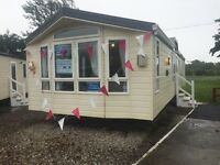 Willerby vogue in west wales Pendine sands