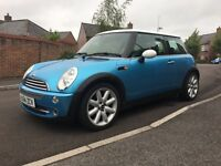 Mini Cooper 2004 Electric Blue Chilli Pack Visibility Pack
