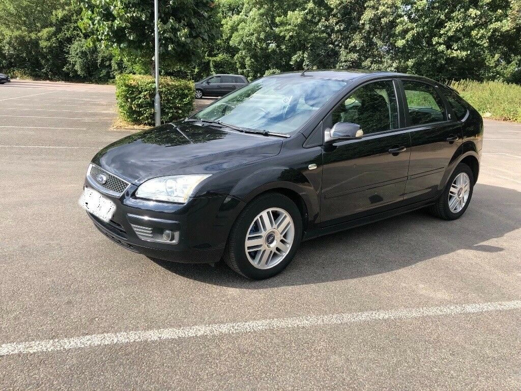 2007 Ford Focus sport s tdci ghia diesel black manual five door Audi golf  gt tdi seat