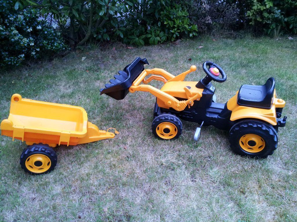 Kid Toy - Smoby JCB Truck Car with Trailer | in Stafford ...