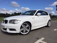 2009 BMW 118d Diesel M sports Full History SOLD SOLD 18Inch Alloys Alpina white