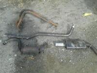 Ford Escort mk4 sportex exhaust system and 4 branch manifold near New