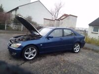 lexus is200 spares or repair hi there if you are viewing this add the car is motd and driving