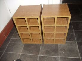 2 x wine rack