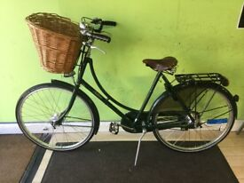 Pashley Sovereign traditional ladies Hybrid bike in Regency green