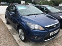 Ford Focus 1.6 Titanium *FULL SPEC-12 MOT+3 MONTH WARRANTY*