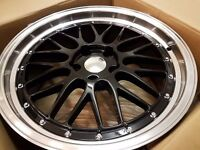 """BBS RS LM CH Styled Alloys for AUDI VW Mercedes BMW Ford 15"""" 16"""" 17"""" 18"""" 19"""""""