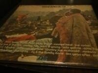 ORIGINAL 3 RECORD SET OF THE 1969 WOODSTOCK CONCERT