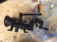 Spong cast iron coffee mill