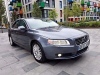 Volvo S80 Se D5 2.4 Diesel Automatic Geartronic Full Service History Long Mot Full Leather Interior