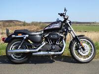 Harley Davidson 883R Sportster. 2009, 09 registration.