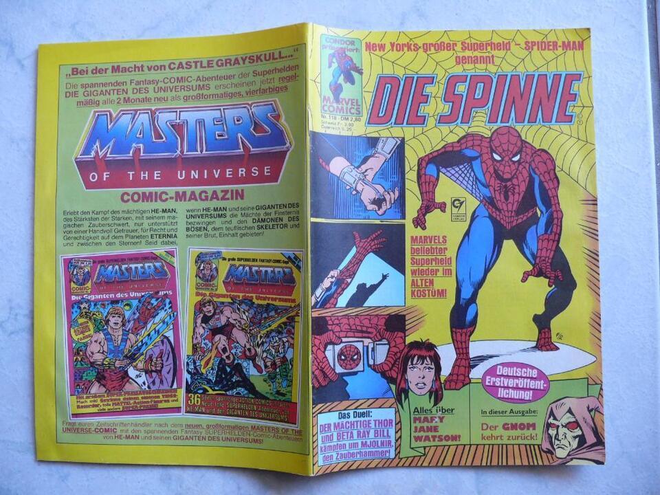 Spider-Man 1997 Panini Comics Nr.8 Die Spinne
