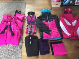 Girls Age 14 ski wear set