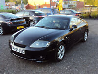 HYUNDAI COUPE 1.6 S 3DR PETROL LOW MILEAGE SPORTS HALF LEATHER SEATS CDPLAYER SERVICEHISTORY LONGMOT